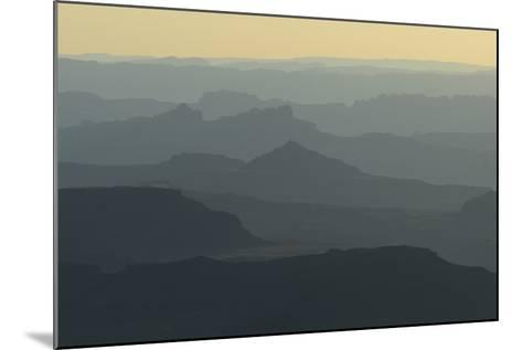 Colorado River Canyon at Sunrise from Buck View-Raul Touzon-Mounted Photographic Print