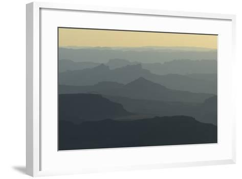 Colorado River Canyon at Sunrise from Buck View-Raul Touzon-Framed Art Print
