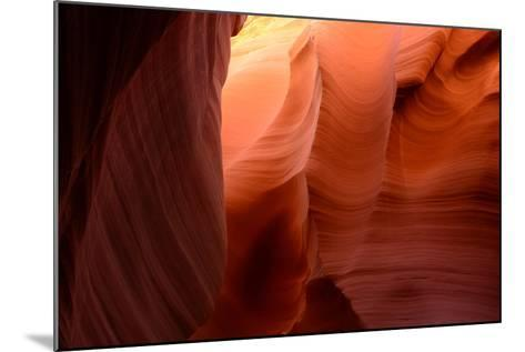 Sandstone Formations in Rattlesnake Canyon-Raul Touzon-Mounted Photographic Print