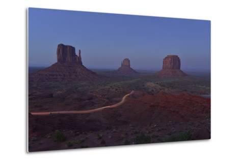Buttes at Monument Valley Tribal Park-Raul Touzon-Metal Print