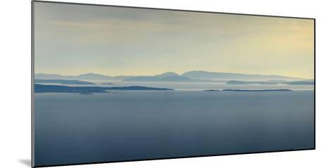 Thick Fog over Strait of Juan De Fuca, During Sunrise from Hurricane Ridge-Raul Touzon-Mounted Photographic Print