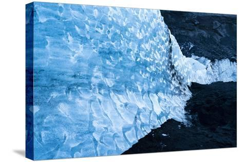 Solheimajokull Glacier on Iceland's South Coast-Ira Block-Stretched Canvas Print