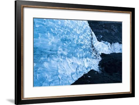 Solheimajokull Glacier on Iceland's South Coast-Ira Block-Framed Art Print