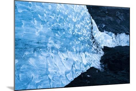 Solheimajokull Glacier on Iceland's South Coast-Ira Block-Mounted Photographic Print