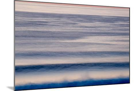 Waves as They Come to Shore in Big Sur, California-Ben Horton-Mounted Photographic Print