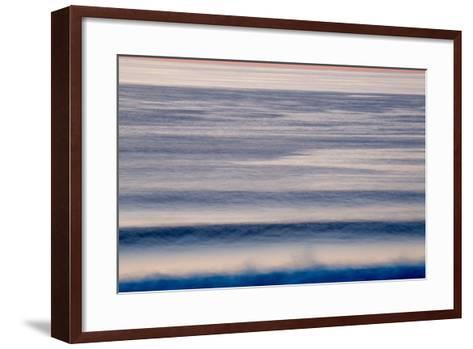 Waves as They Come to Shore in Big Sur, California-Ben Horton-Framed Art Print