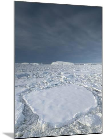 Entrance of the Lemaire Channel Along the Antarctic Peninsula-Jeff Mauritzen-Mounted Photographic Print