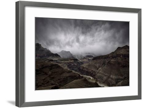 The Central Grand Canyon-Peter Mcbride-Framed Art Print