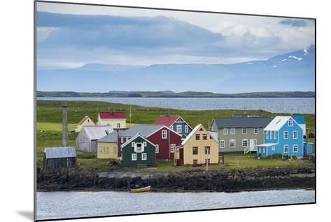 Flatey Island in the Breidafjordur Area of the Westfjords, Iceland-Michael Melford-Mounted Photographic Print