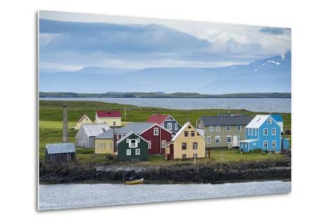 Flatey Island in the Breidafjordur Area of the Westfjords, Iceland-Michael Melford-Metal Print