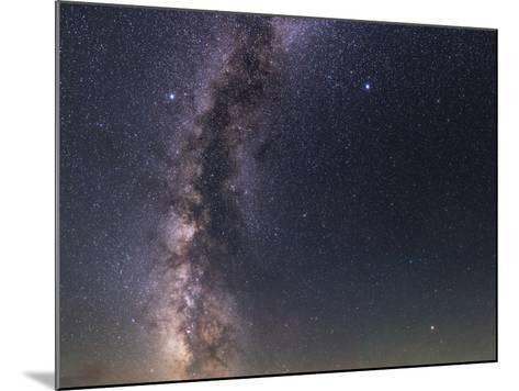 The Milky Way from Scorpius to Cygnus in the Night Sky Above Grand Teton National Park-Babak Tafreshi-Mounted Photographic Print