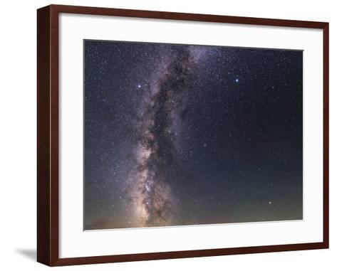 The Milky Way from Scorpius to Cygnus in the Night Sky Above Grand Teton National Park-Babak Tafreshi-Framed Art Print