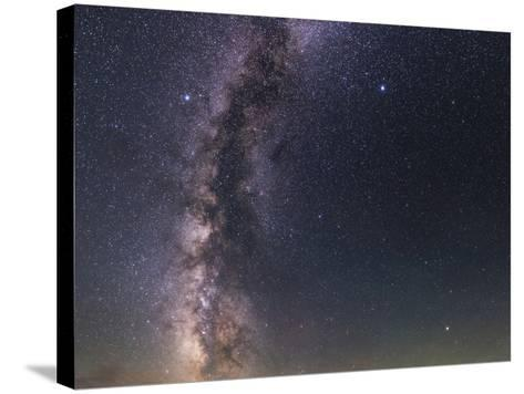 The Milky Way from Scorpius to Cygnus in the Night Sky Above Grand Teton National Park-Babak Tafreshi-Stretched Canvas Print