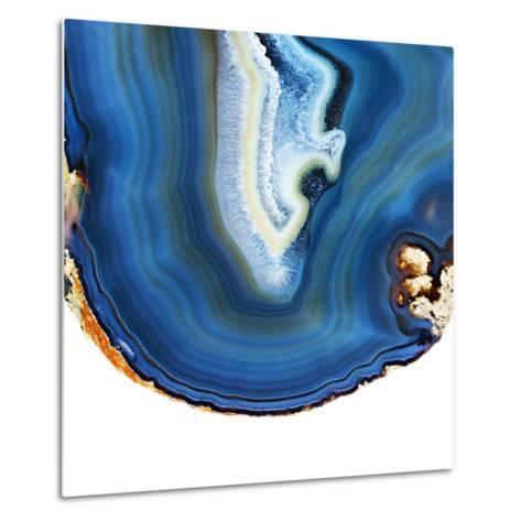 Cobalt Blue Agate A-GI ArtLab-Metal Print