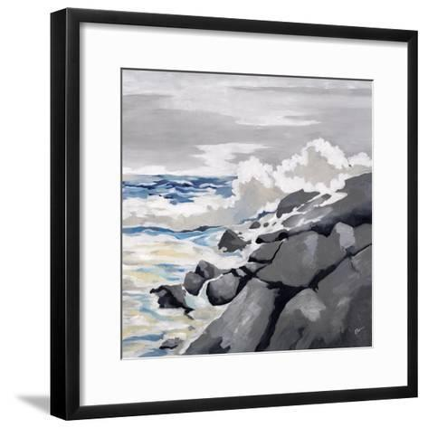 Mid-Morning Coast-Rikki Drotar-Framed Art Print