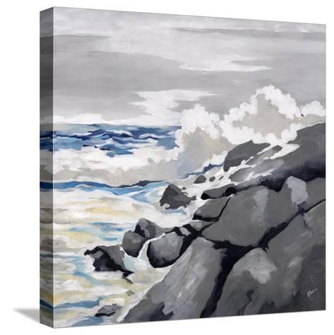 Mid-Morning Coast-Rikki Drotar-Stretched Canvas Print