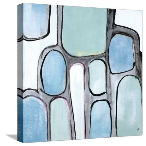 Mint Honey Comb-Brent Abe-Stretched Canvas Print