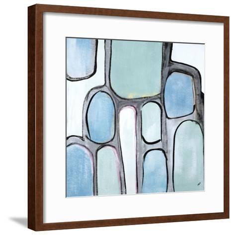 Mint Honey Comb-Brent Abe-Framed Art Print