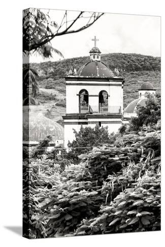 ?Viva Mexico! B&W Collection - Mexican Church II-Philippe Hugonnard-Stretched Canvas Print