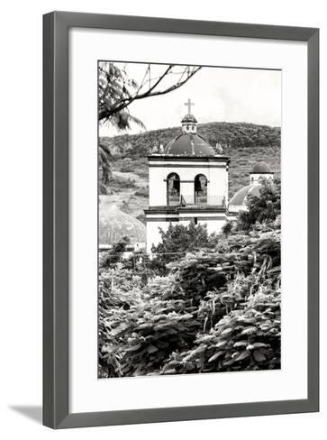 ?Viva Mexico! B&W Collection - Mexican Church II-Philippe Hugonnard-Framed Art Print