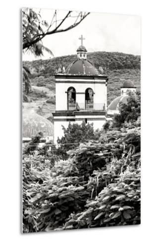 ?Viva Mexico! B&W Collection - Mexican Church II-Philippe Hugonnard-Metal Print