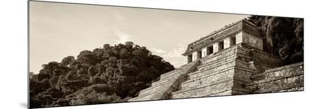 ¡Viva Mexico! Panoramic Collection - Mayan Temple of Inscriptions - Palenque I-Philippe Hugonnard-Mounted Photographic Print