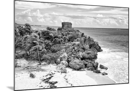 ?Viva Mexico! B&W Collection - Tulum Riviera Maya VI-Philippe Hugonnard-Mounted Photographic Print