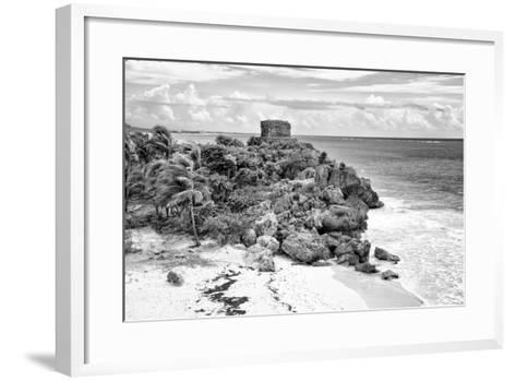 ?Viva Mexico! B&W Collection - Tulum Riviera Maya VI-Philippe Hugonnard-Framed Art Print