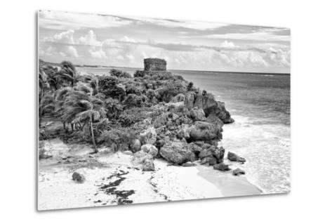 ?Viva Mexico! B&W Collection - Tulum Riviera Maya VI-Philippe Hugonnard-Metal Print