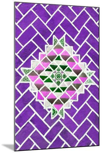 ?Viva Mexico! Collection - Purple Mosaics-Philippe Hugonnard-Mounted Photographic Print