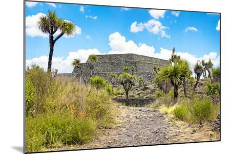 ¡Viva Mexico! Collection - Archaeological Site - Cantona-Philippe Hugonnard-Mounted Photographic Print
