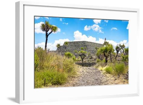 ¡Viva Mexico! Collection - Archaeological Site - Cantona-Philippe Hugonnard-Framed Art Print