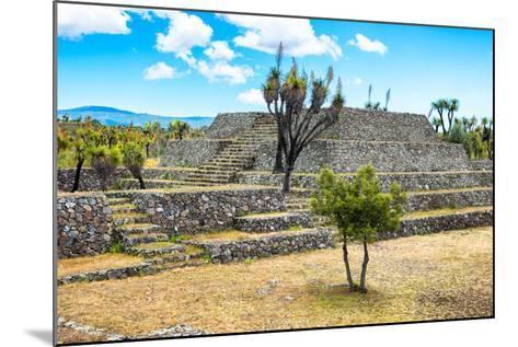 ?Viva Mexico! Collection - Pyramid of Cantona - Puebla-Philippe Hugonnard-Mounted Photographic Print