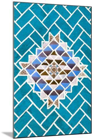 ?Viva Mexico! Collection - Turquoise Mosaics-Philippe Hugonnard-Mounted Photographic Print