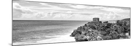¡Viva Mexico! Panoramic Collection - Caribbean Coastline in Tulum X-Philippe Hugonnard-Mounted Photographic Print