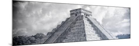 ¡Viva Mexico! Panoramic Collection - El Castillo Pyramid in Chichen Itza XIV-Philippe Hugonnard-Mounted Photographic Print
