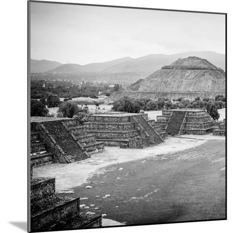 ¡Viva Mexico! Square Collection - Teotihuacan Pyramids V-Philippe Hugonnard-Mounted Photographic Print