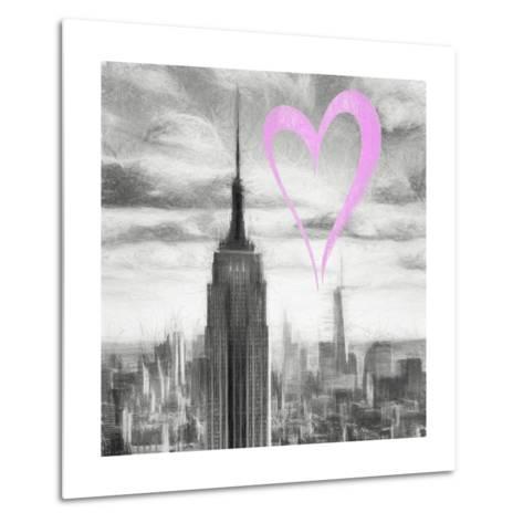 Luv Collection - New York City - Manhattan Skyscrapers II-Philippe Hugonnard-Metal Print