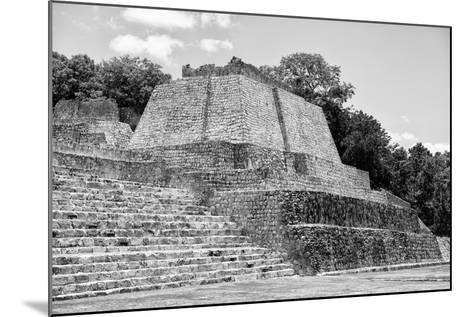?Viva Mexico! B&W Collection - Maya Archaeological Site III - Edzna-Philippe Hugonnard-Mounted Photographic Print