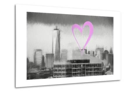 Luv Collection - New York City - 1WTC-Philippe Hugonnard-Metal Print
