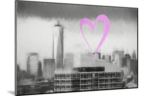 Luv Collection - New York City - 1WTC-Philippe Hugonnard-Mounted Giclee Print