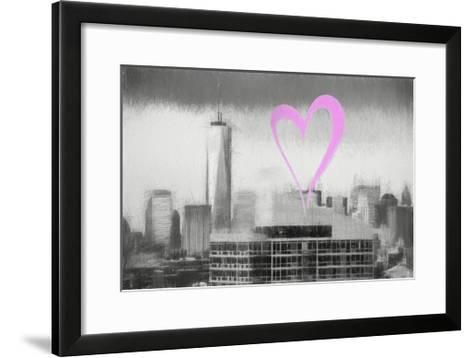 Luv Collection - New York City - 1WTC-Philippe Hugonnard-Framed Art Print