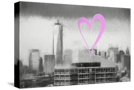 Luv Collection - New York City - 1WTC-Philippe Hugonnard-Stretched Canvas Print