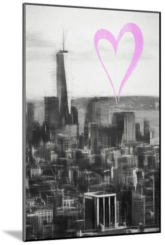 Luv Collection - New York City - Downtown Manhattan-Philippe Hugonnard-Mounted Giclee Print