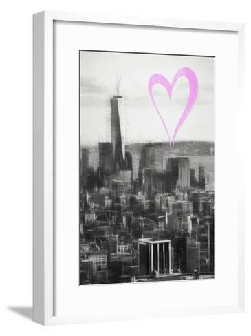 Luv Collection - New York City - Downtown Manhattan-Philippe Hugonnard-Framed Art Print