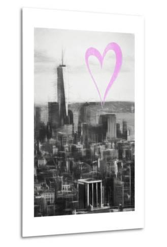 Luv Collection - New York City - Downtown Manhattan-Philippe Hugonnard-Metal Print