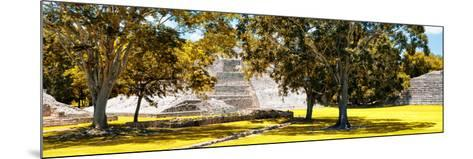 ¡Viva Mexico! Panoramic Collection - Maya Archaeological Site - Edzna XI-Philippe Hugonnard-Mounted Photographic Print