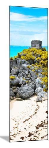 ¡Viva Mexico! Panoramic Collection - Tulum Ruins along Caribbean Coastline III-Philippe Hugonnard-Mounted Photographic Print