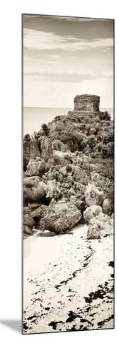 ¡Viva Mexico! Panoramic Collection - Tulum Ruins along Caribbean Coastline II-Philippe Hugonnard-Mounted Photographic Print