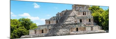 ¡Viva Mexico! Panoramic Collection - Maya Archaeological Site - Campeche III-Philippe Hugonnard-Mounted Photographic Print